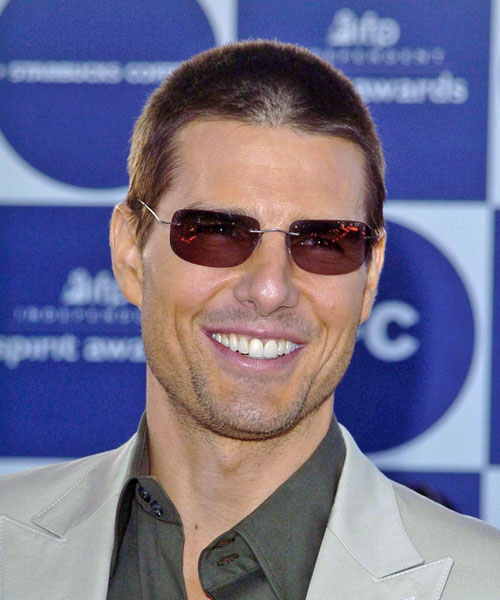 Tom Cruise Buzz Cut : cruise, Cruise, Hairstyles,, Colors