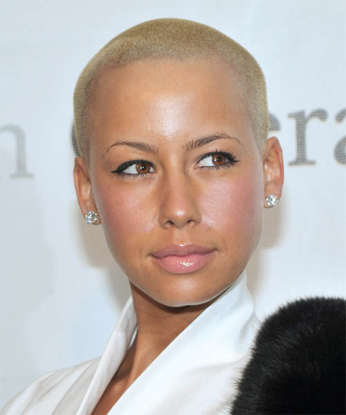 Amber Rose New Haircut : amber, haircut, Amber, Short, Straight, Hairstyle