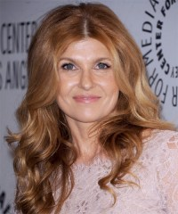 Connie Britton Long Wavy Casual Hairstyle - Light ...