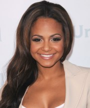 christina milian long straight