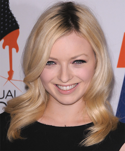 Francesca Fisher Eastwood Long Wavy Formal Hairstyle