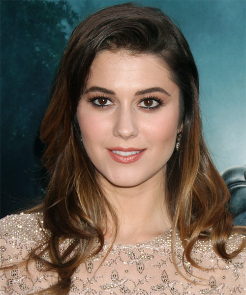 Mary Elizabeth Winstead Long Straight Casual Hairstyle