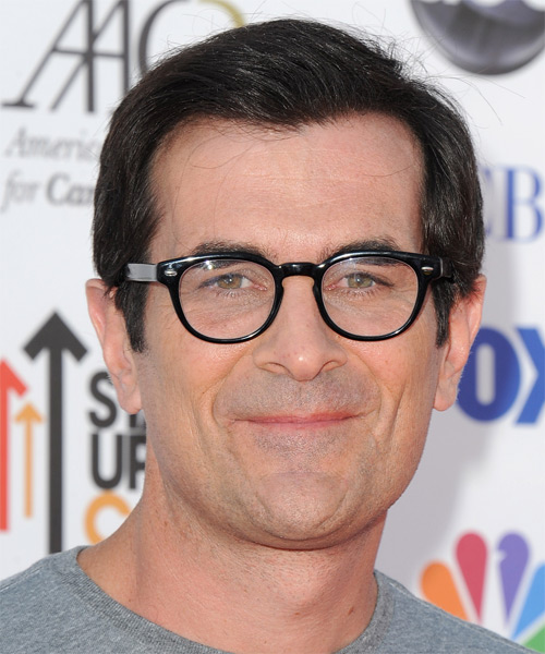 Ty Burrell Short Straight Formal Hairstyle Black Hair Color