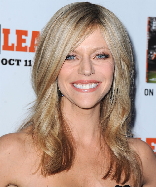 Kaitlin Olson Long Straight Formal Hairstyle Champagne