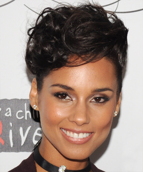 Alicia Keys Hairstyles For 2017 Celebrity Hairstyles By