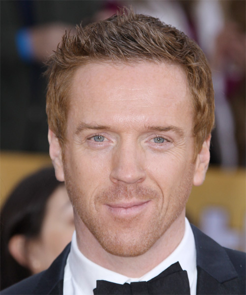 Damian Lewis Short Straight Casual Hairstyle