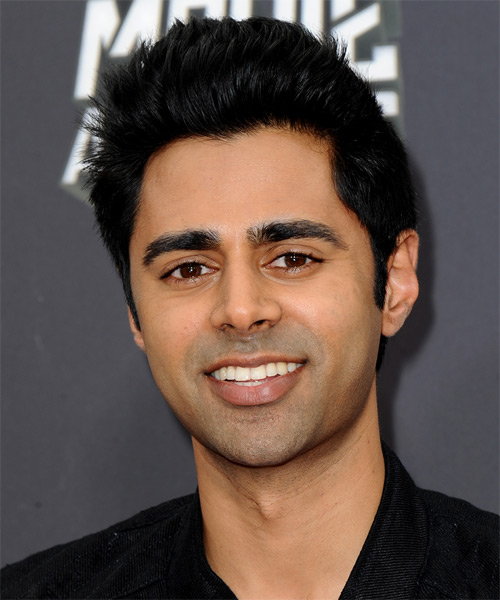 Hasan Minhaj Short Straight Casual Hairstyle Black Hair