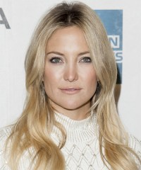 Kate Hudson Long Straight Casual Hairstyle - Light ...