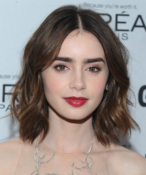Lily Collins Hairstyles For 2017 Celebrity Hairstyles By