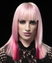 long straight alternative hairstyle