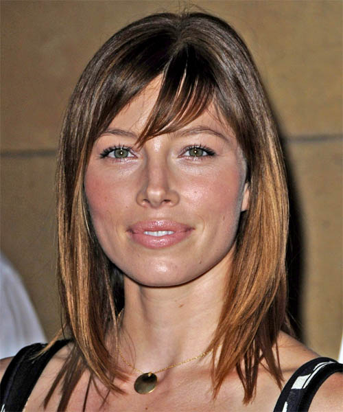 13 Jessica Biel Hairstyles Hair Cuts And Colors
