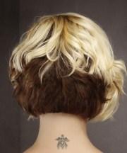 formal short wavy bob hairstyle