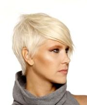 short straight formal pixie hairstyle