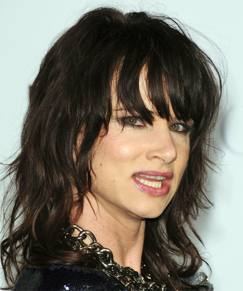 Juliette Lewis Casual Long Wavy Hairstyle