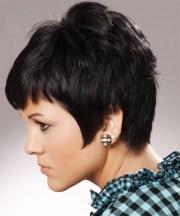 short straight black ash hairstyle