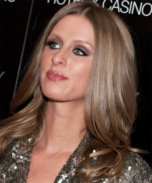 Nicky Hilton Long Straight Casual Hairstyle Medium