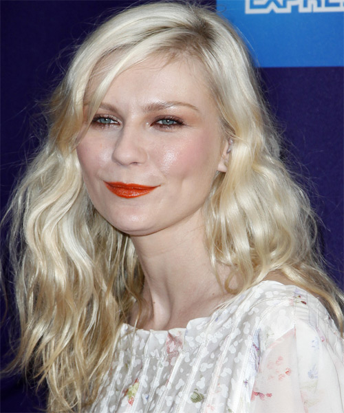Kirsten Dunst Long Wavy Casual Hairstyle