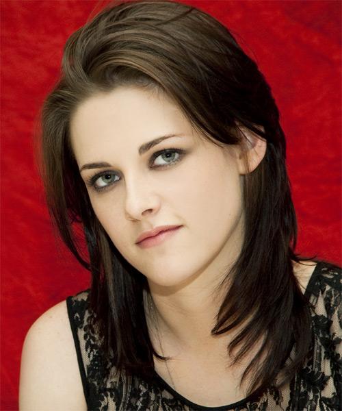 Kristen Stewart Long Straight Casual Hairstyle