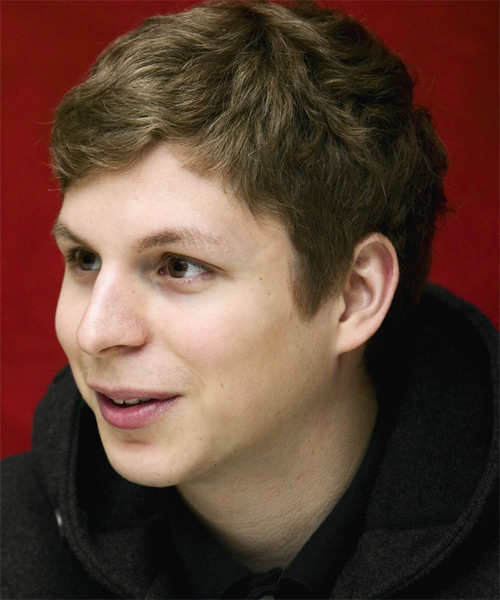 Michael Cera Casual Short Wavy Hairstyle