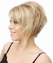 short straight formal hairstyle