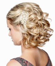 medium curly formal updo hairstyle