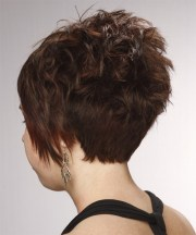 short straight formal layered pixie
