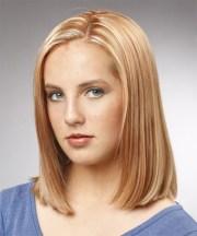 medium straight formal bob hairstyle