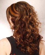 curly formal hairstyle