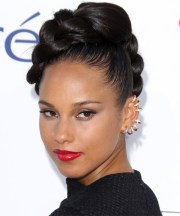 alicia keys hairstyles in 2018