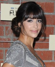 hannah simone formal long curly