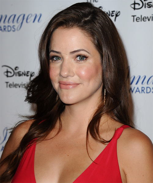 Julie Gonzalo Long Straight Casual Hairstyle