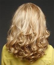 long wavy formal hairstyle - medium