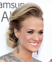 carrie underwood long straight
