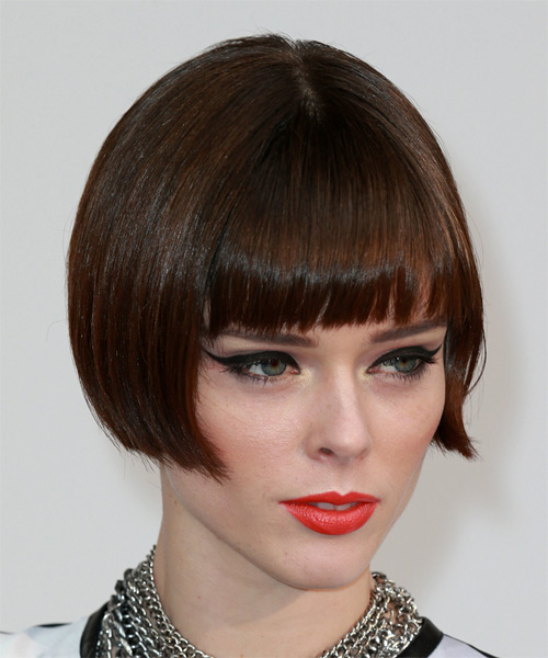 Coco Rochas Pageboy Bob Hairstyle And Makeup