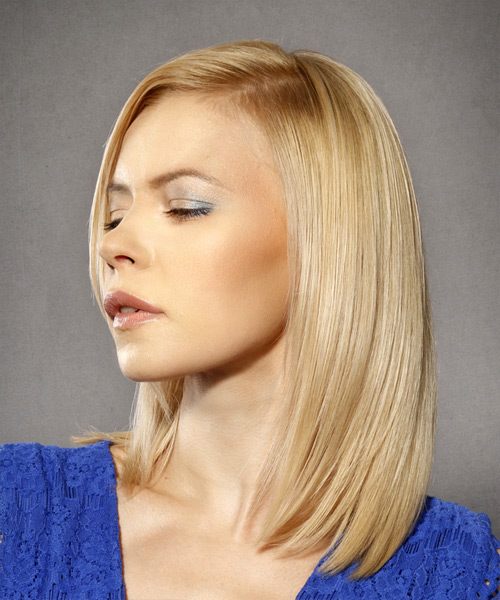 30 Shoulder Length Hairstyles For Thick Straight Hair Side Veiw