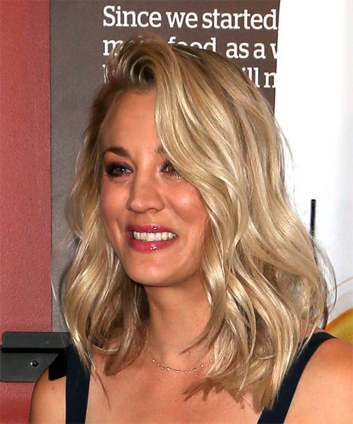 Kaley Cuoco Hairstyles Gallery