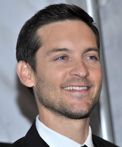 Tobey Maguire Short Straight Formal Hairstyle