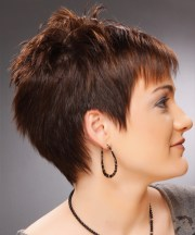 short straight casual pixie hairstyle