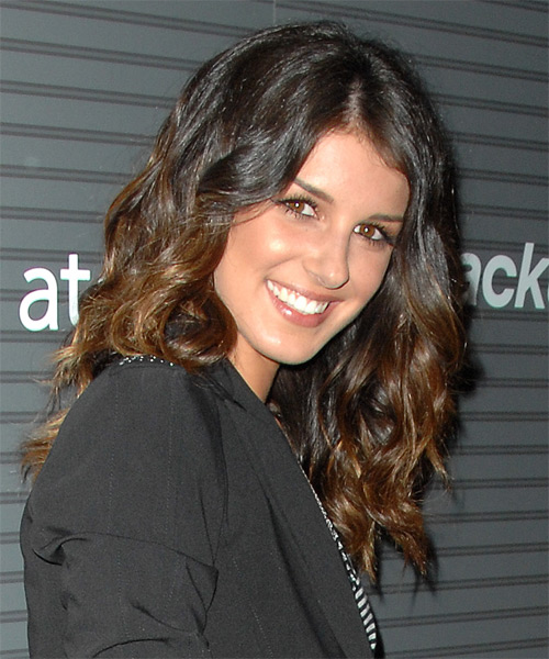 Shenae Grimes Casual Long Wavy Hairstyle