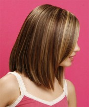 long straight formal hairstyle