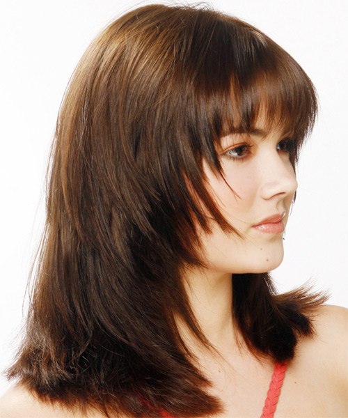 Layered Hair Razor Cuts And One Length Cuts