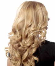long wavy formal hairstyle - light