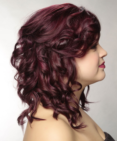 30 Plum Curly Hairstyles Hairstyles Ideas Walk The Falls