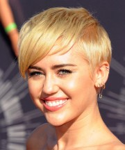miley cyrus casual short straight