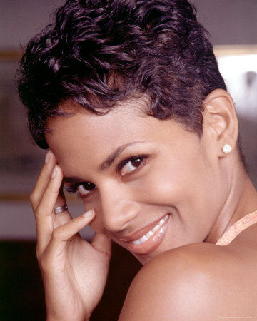 Halle Berry Very Short Haircut