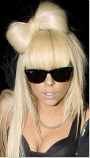 lady gaga lovely hairstyle