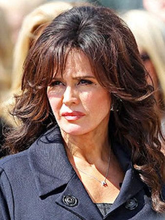 Marie Osmond Shoulder Loose Curly Hairstyle