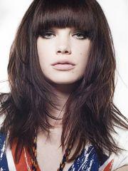 trendy medium length layered hairstyles