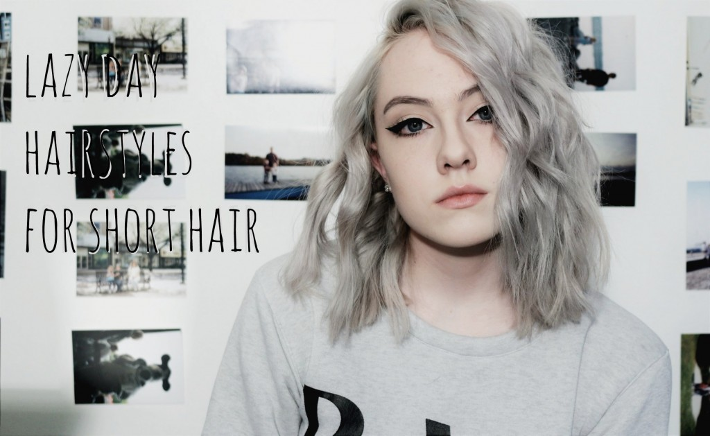 3 5 Minute Hairstyles For Short Hair Tumblr Inspired