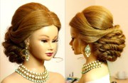 bridal prom updo. hairstyle